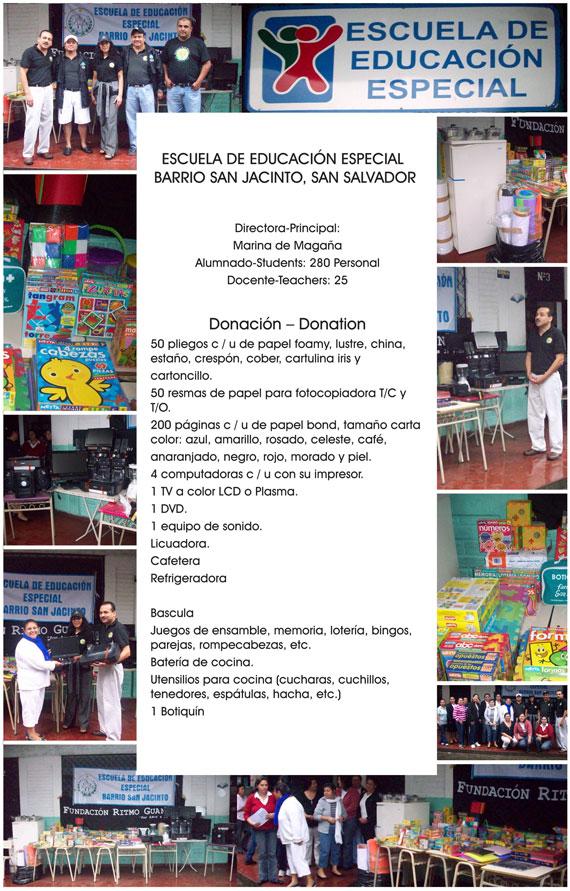 Escuela de Educacion Especial Barrio San Jacinto, El Salvador